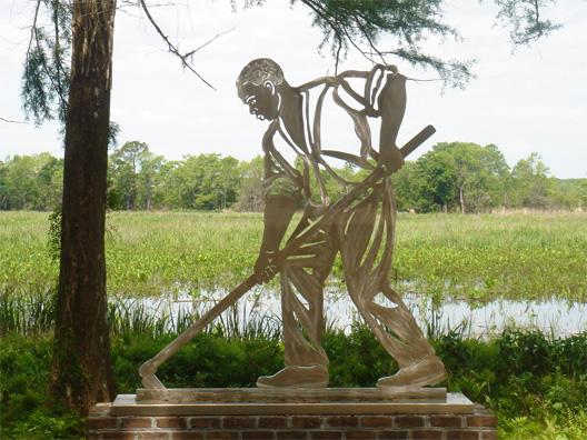 allegorical sculpture, historical sculptures, monumental sculpture, outdoor metal sculpture, metal sculpture garden