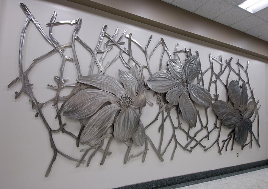 Magnolia Sculpture Public Art Babette Bloch