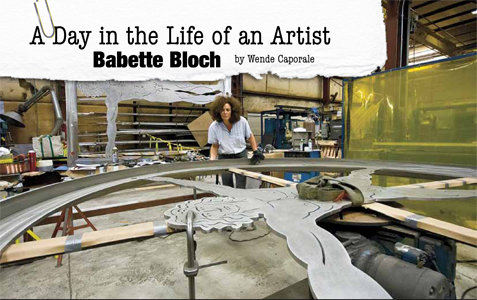 Babette Bloch Connecticut Artist